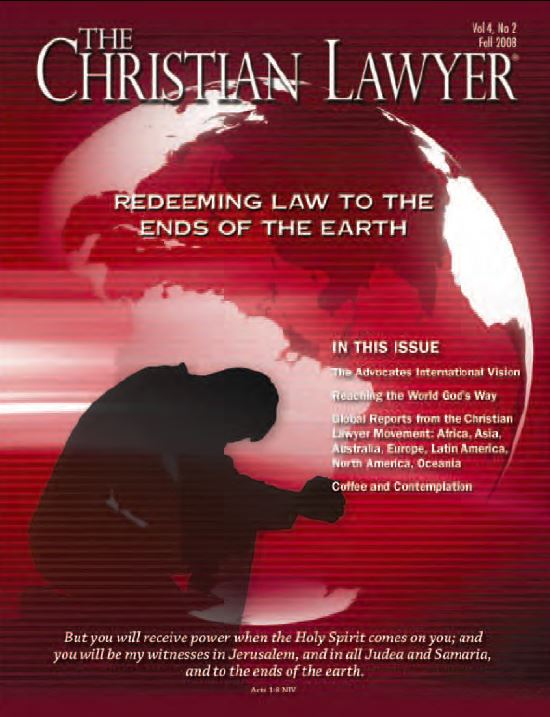 2008 Fall Christian Lawyer