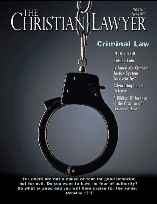 2007 Spring Christian Lawyer