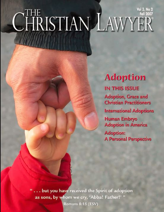 2007 Fall Christian Lawyer