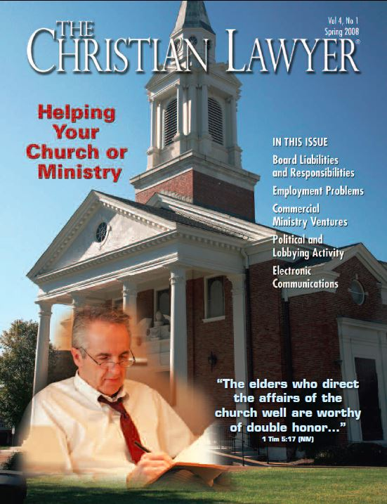 2008 Spring Christian Lawyer