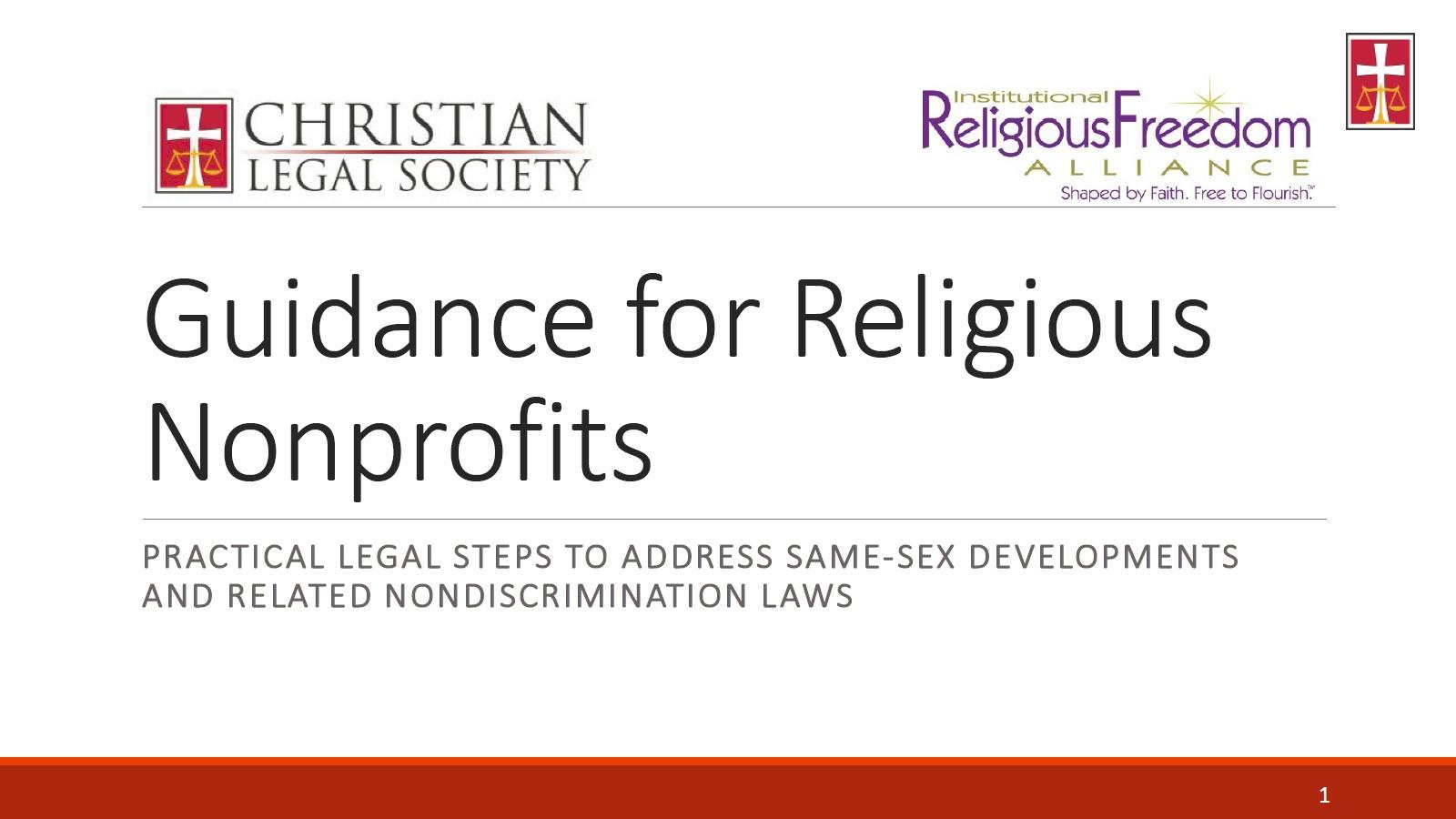 NonProfit PPT Cover