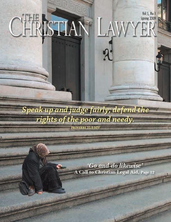 2009 Spring Christian Lawyer