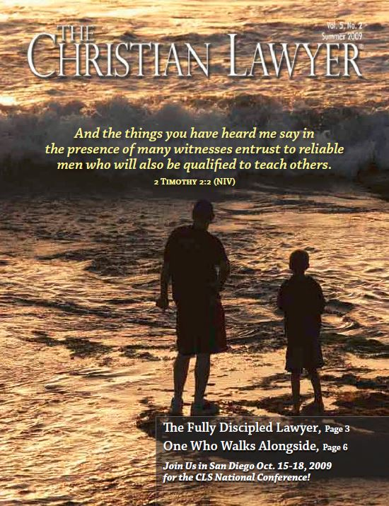 2009 Summer Christian Lawyer