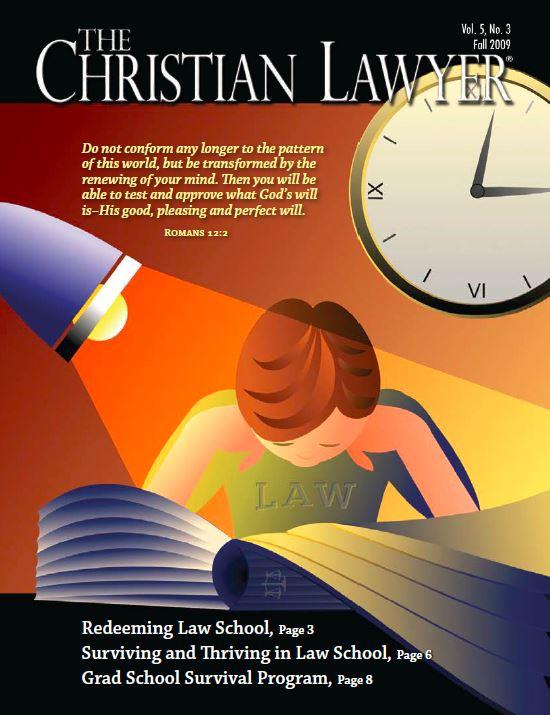 2009 Fall Christian Lawyer