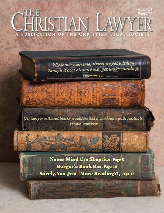 2010 Winter Christian Lawyer