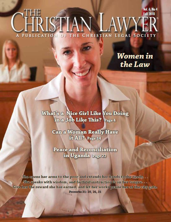 2010 Fall Christian Lawyer