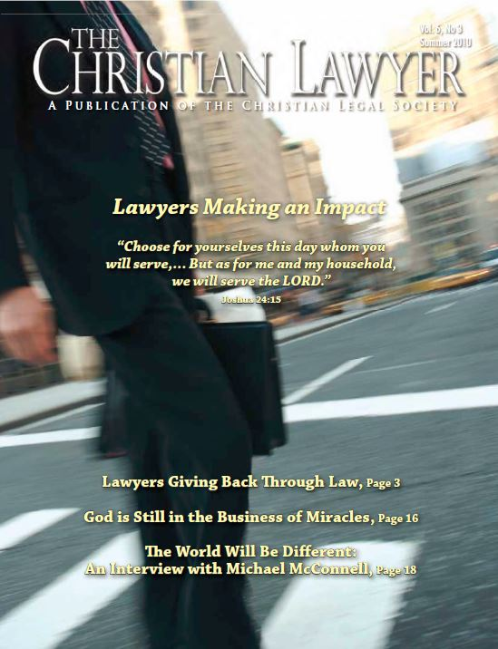 2010 Summer Christian Lawyer