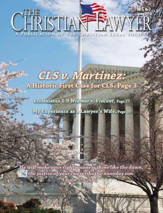 2010 Spring Christian Lawyer