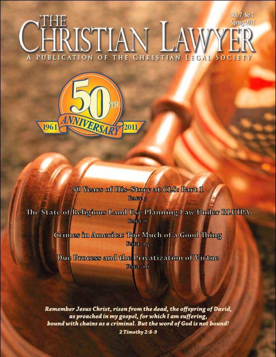 2011 Spring Christian Lawyer