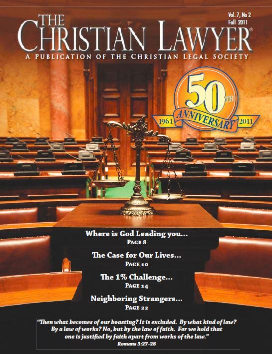2011 Fall Christian Lawyer